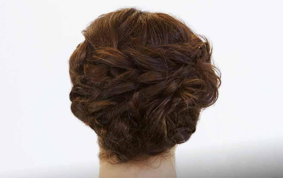 Lavish and Lovely Updo: Loop de Loop