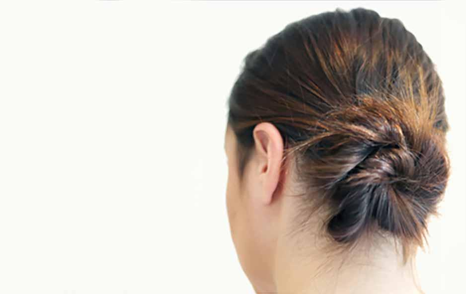 Side Chignon The French Bun Hair Tutorial Madison Reed