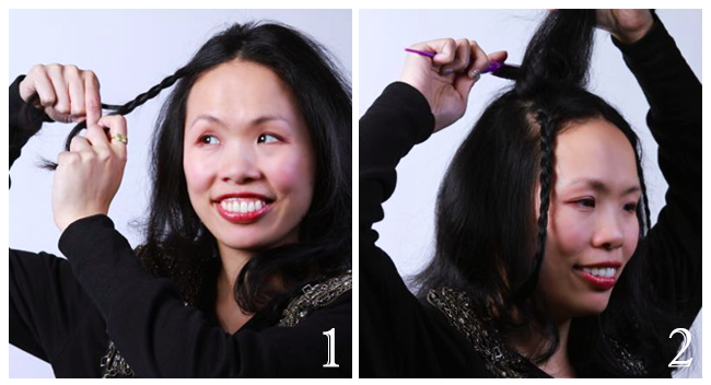 Holiday Hair Tutorial: Antique Head Crown