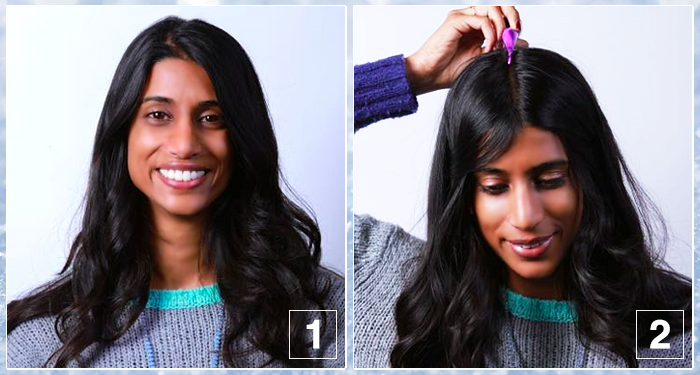 Braided Beanie Hair Tutorial