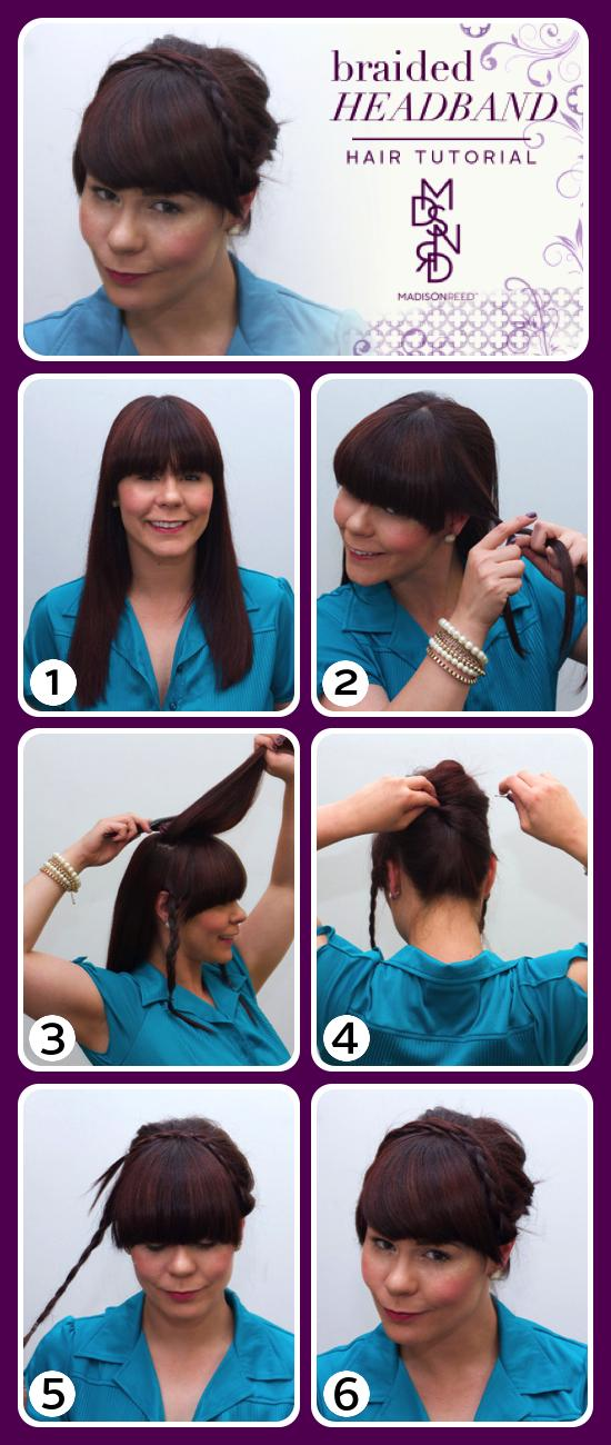 Braided Headband Tutorial with steps