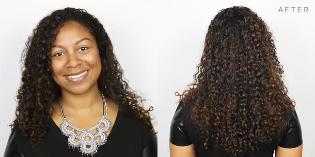 Carmen After Hair Color Photo
