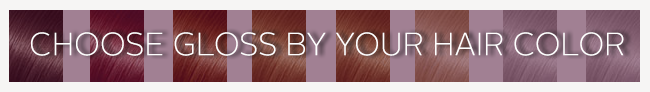 Hair Gloss Colors by Hair Type