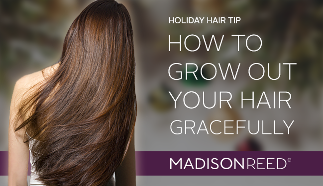 How to Grow Out Your Hair Gracefully