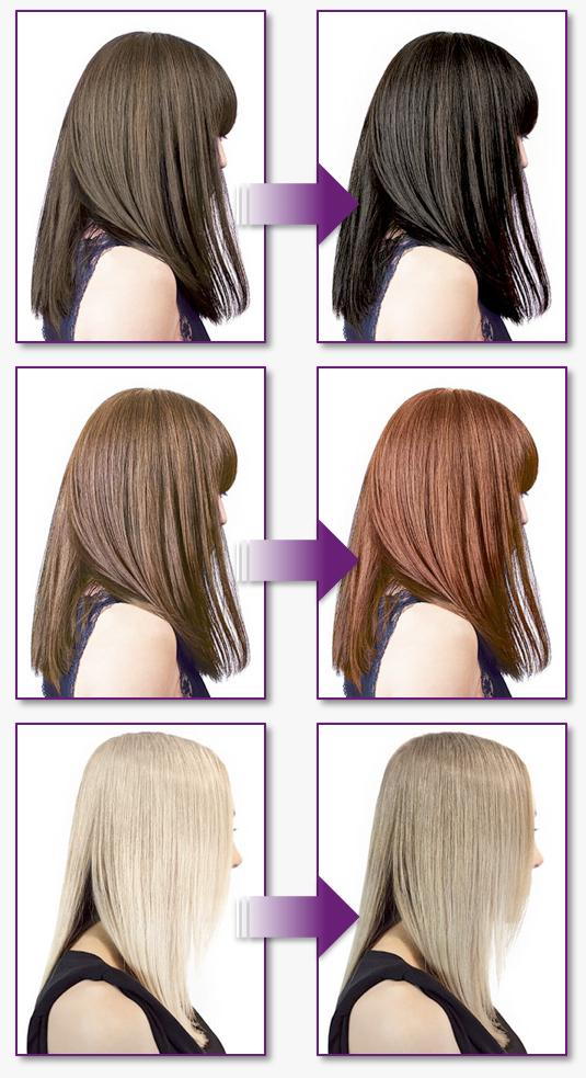 Hair transitions
