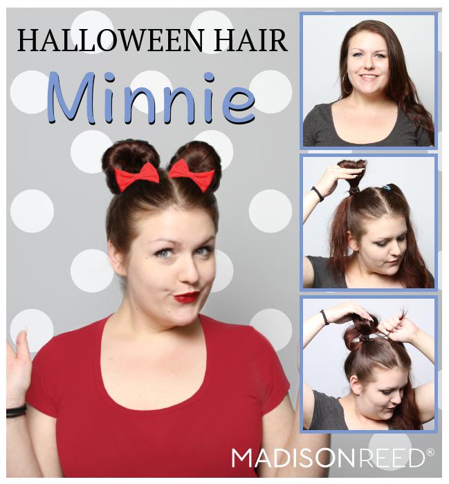 Halloween Hair Minnie