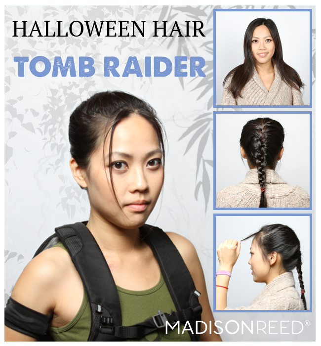 Halloween Hair Tomb Raider