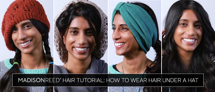 Hair Tutorial: How To Wear Hair Under A Hat