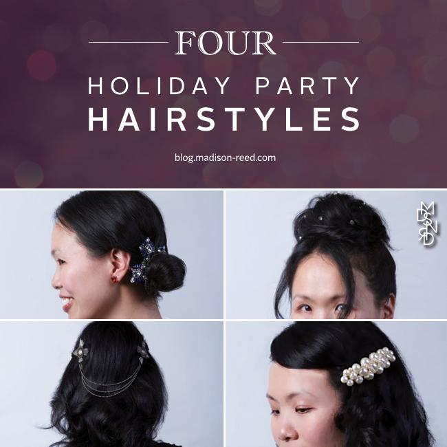 Hair Tutorial: Holiday Hairstyles
