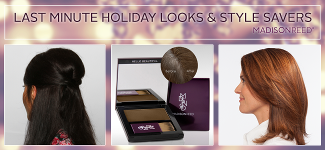 Holiday Looks and Hairstyles