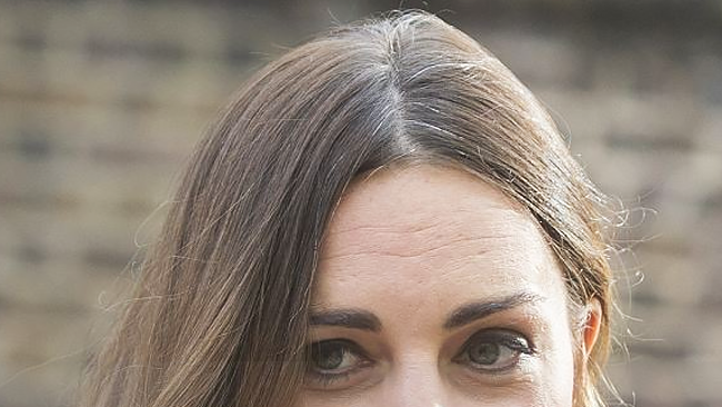 The Duchess of Cambridge Shows Her Shades of Grey