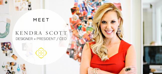 Brilliant Women Spotlight: Meet Designer and CEO Kendra Scott