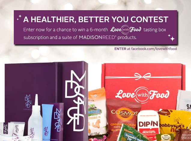 Love With Food and Madison Reed Contest