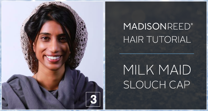 Milk Maid Slouch Cap Hair Tutorial
