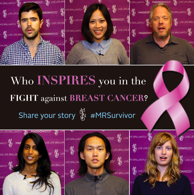 Madison Reed Breast Cancer Awareness Campaign