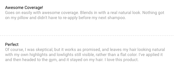 Root Touch Up customer reviews