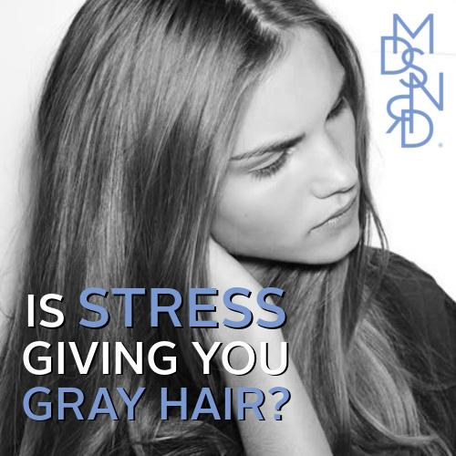 what cause gray hair