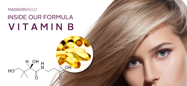 Vitamin B: The Natural Ingredient for Smoother Hair