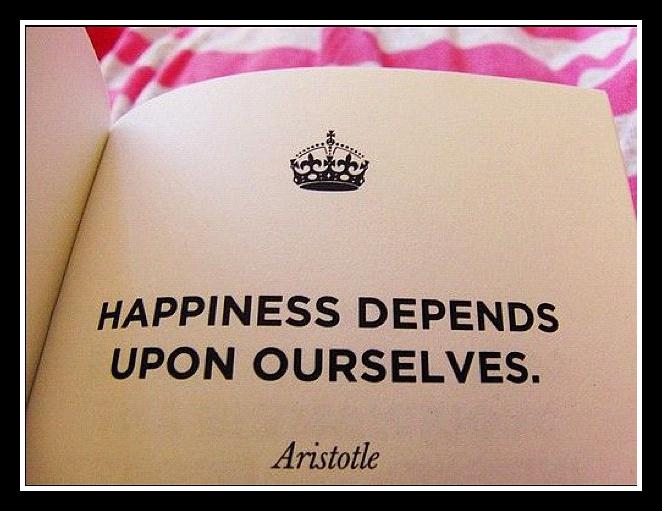 happiness-depends-on-ourselves
