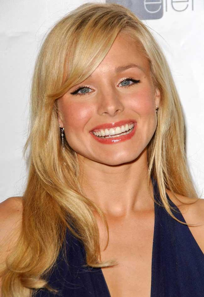 long hairstyles with layers - Kristen Bel - long hairstyles for women with bangs