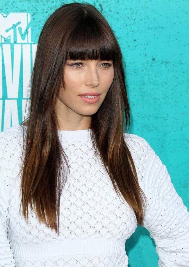 long length hairstyles - Jessica Biel - long hairstyles with layers
