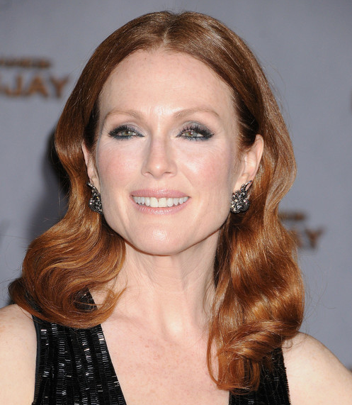 Julianne Moore with Coppery Red Hair - Copper Red Hair Color from Copper Colored Hair Dye
