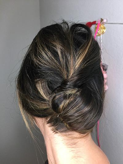 French Twist Step 2