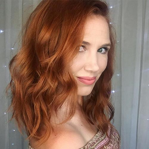 Gingerbread Red Hair Color