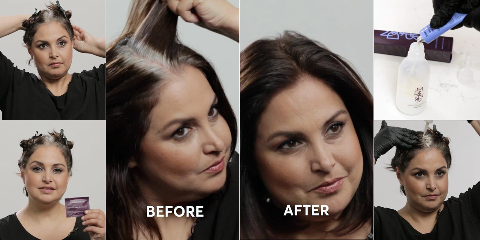 The Definitive Guide to Coloring Gray Hair