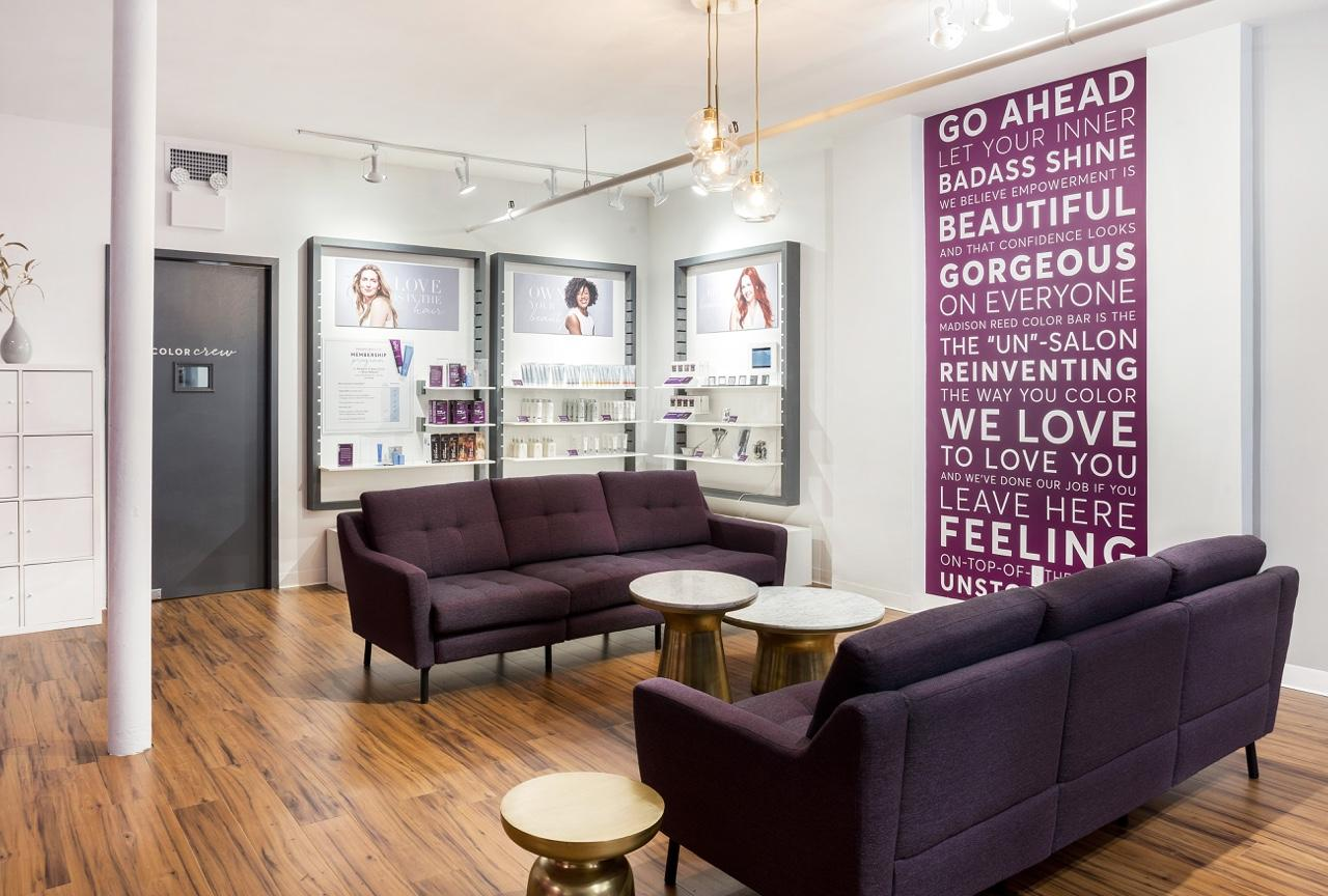 We Dont Have To Leave Madison And Go >> Madison Reed Color Bar New York In The Flatiron District