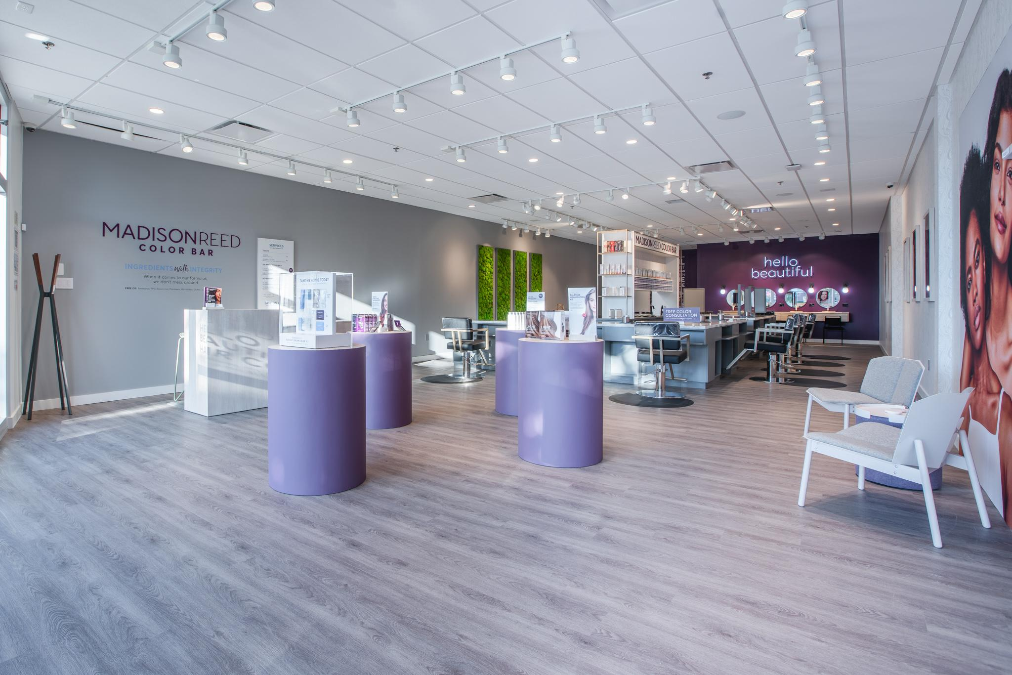 Retail and Lobby area of the Fort Worth Color Bar