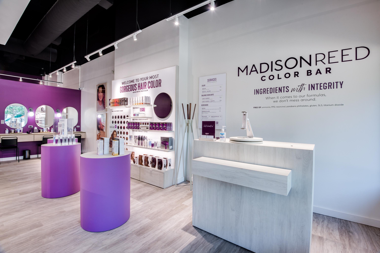 Front Desk of Madison Reed Color Bar Allen