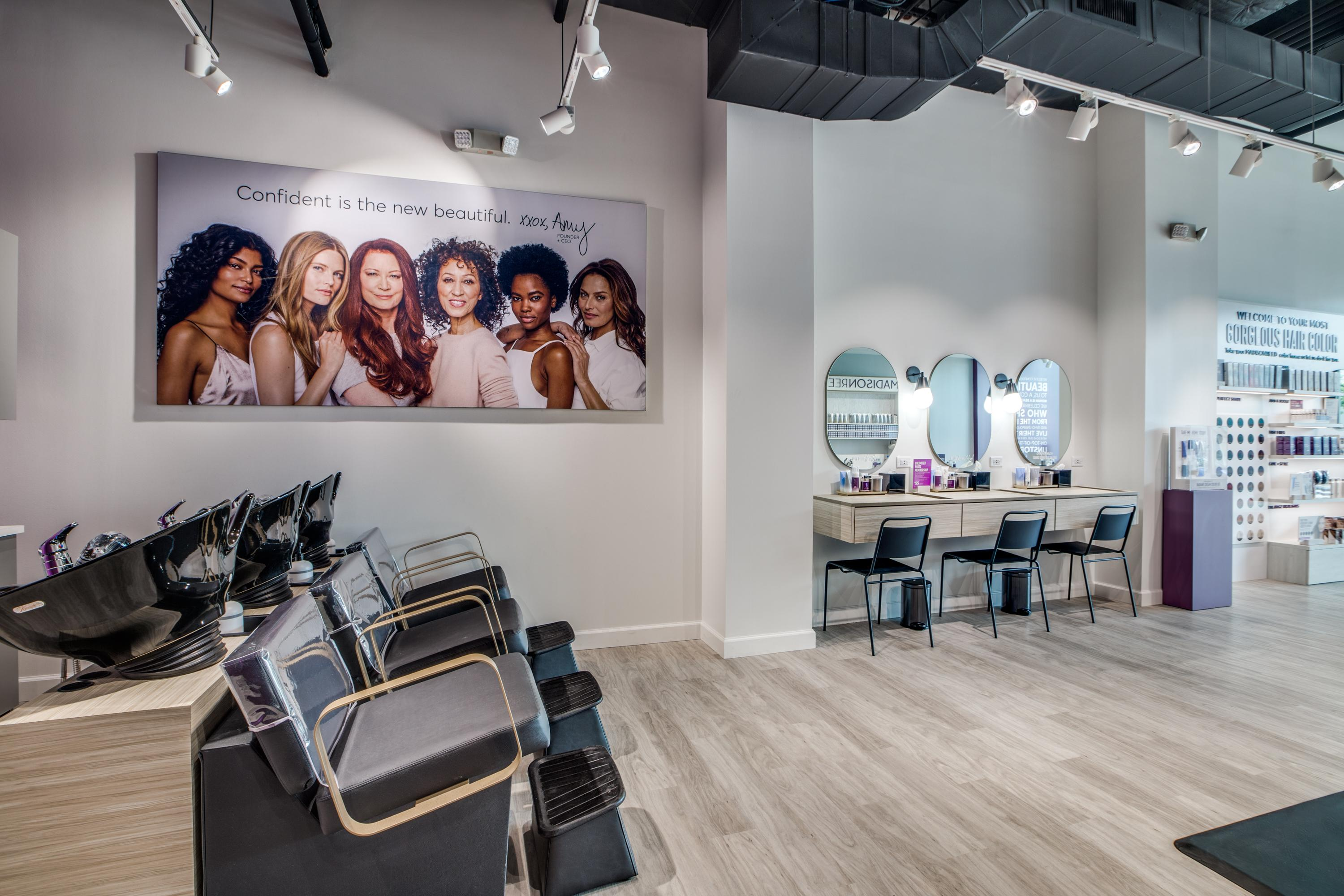 Interior Photo of Madison Reed Color Bar Rice Village