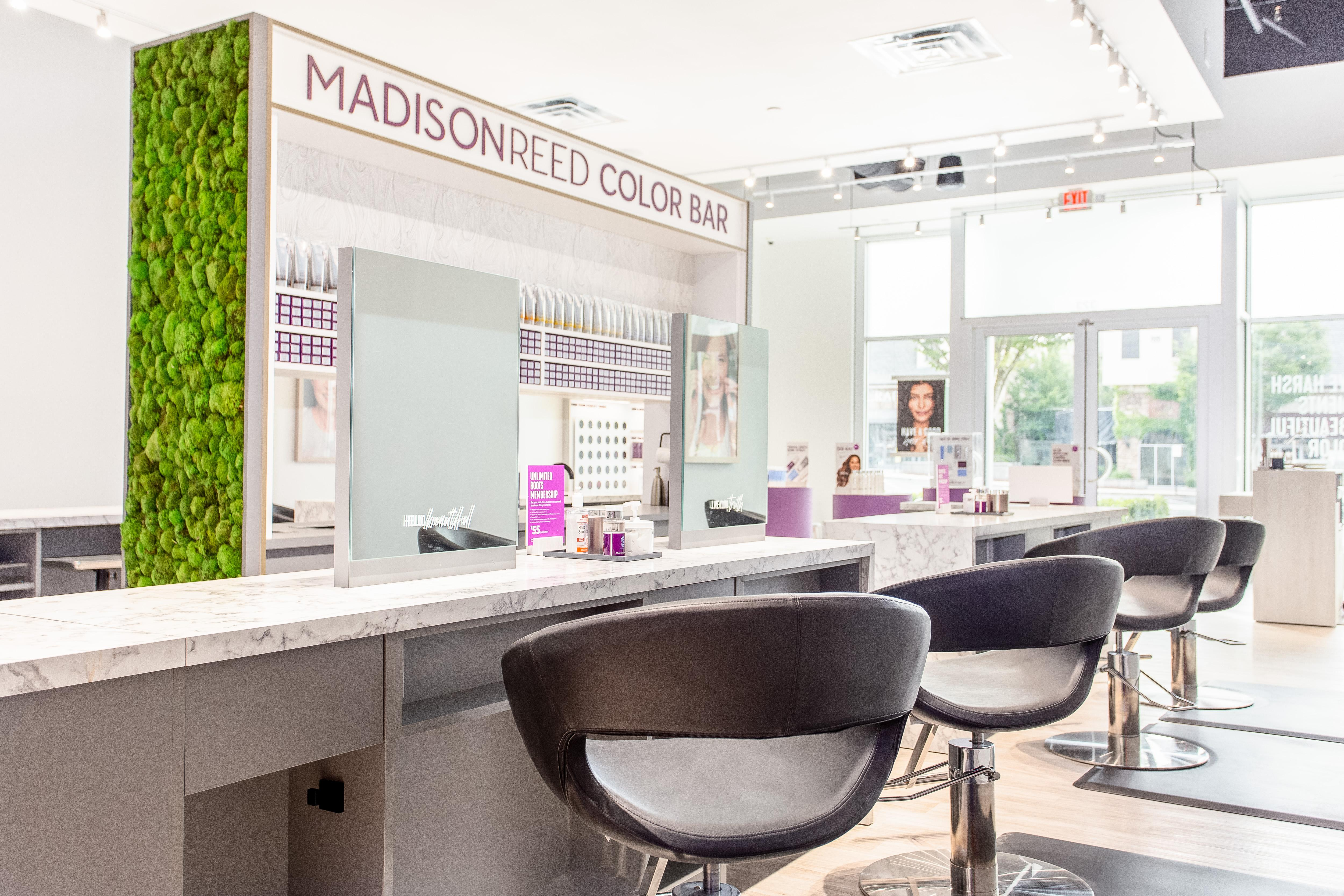 Interior Photo of Madison Reed Color Bar Peachtree Corners
