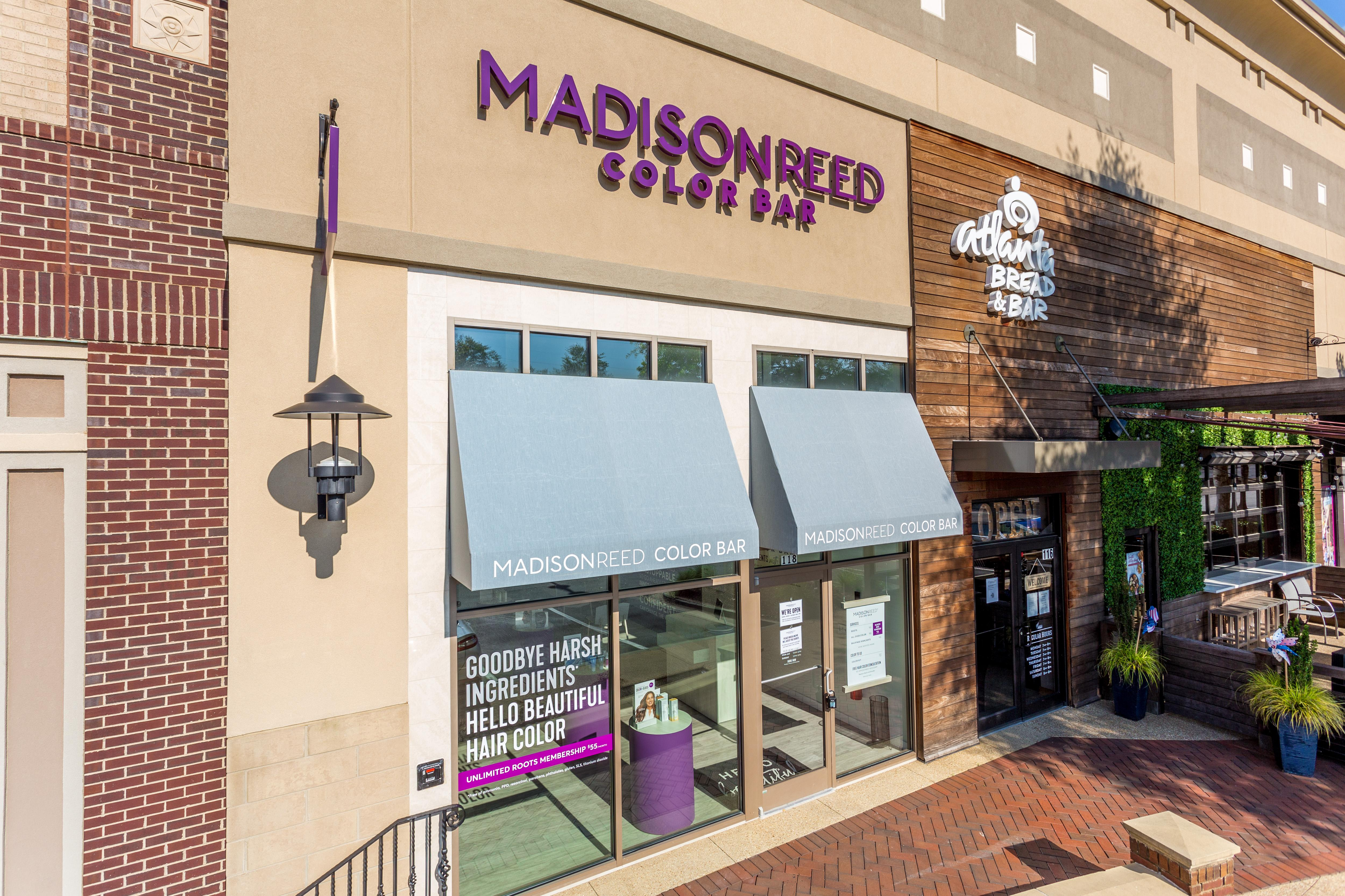 Exterior Photo of Madison Reed Color Bar Forsyth