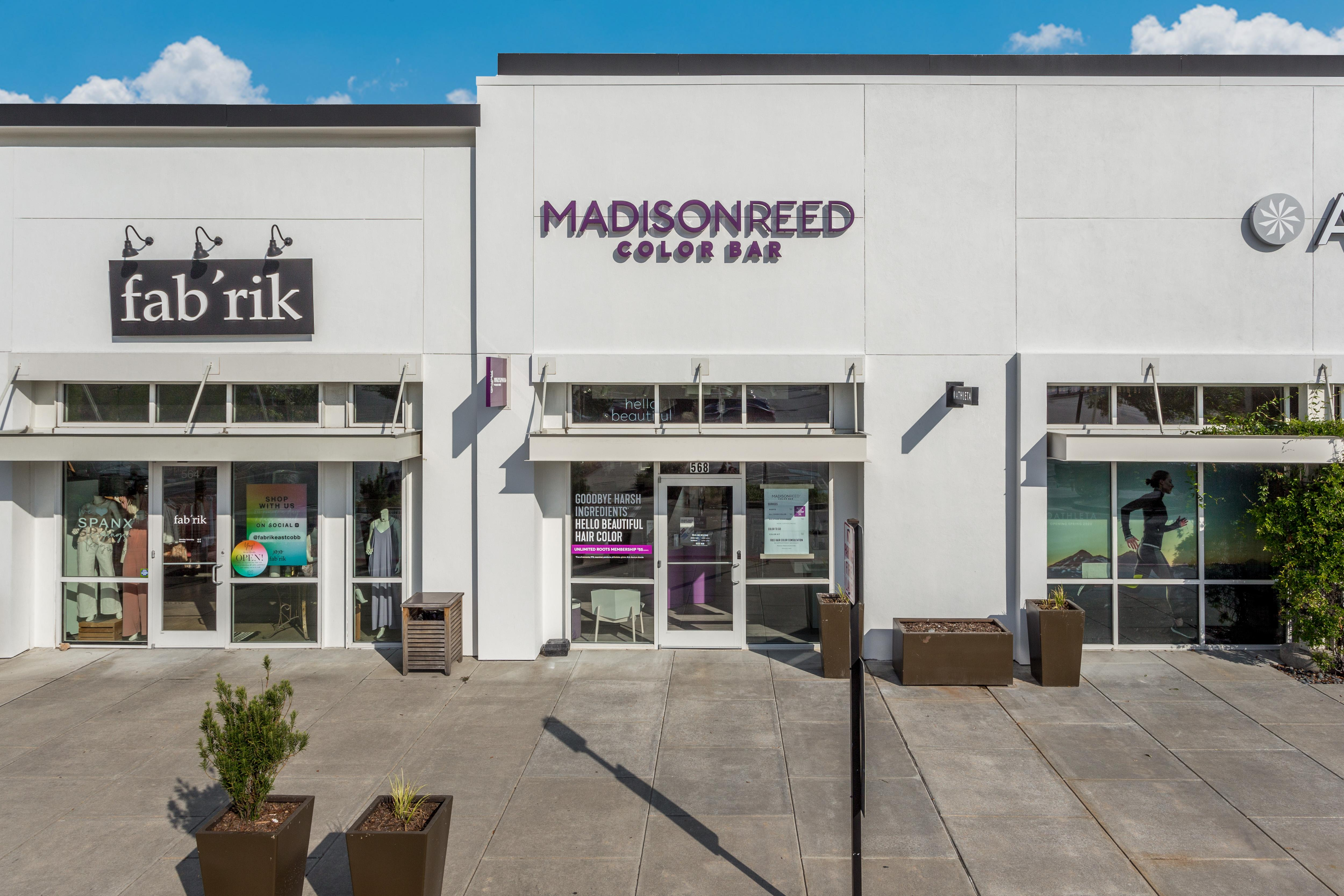 Exterior Photo of Madison Reed Color Bar Marietta