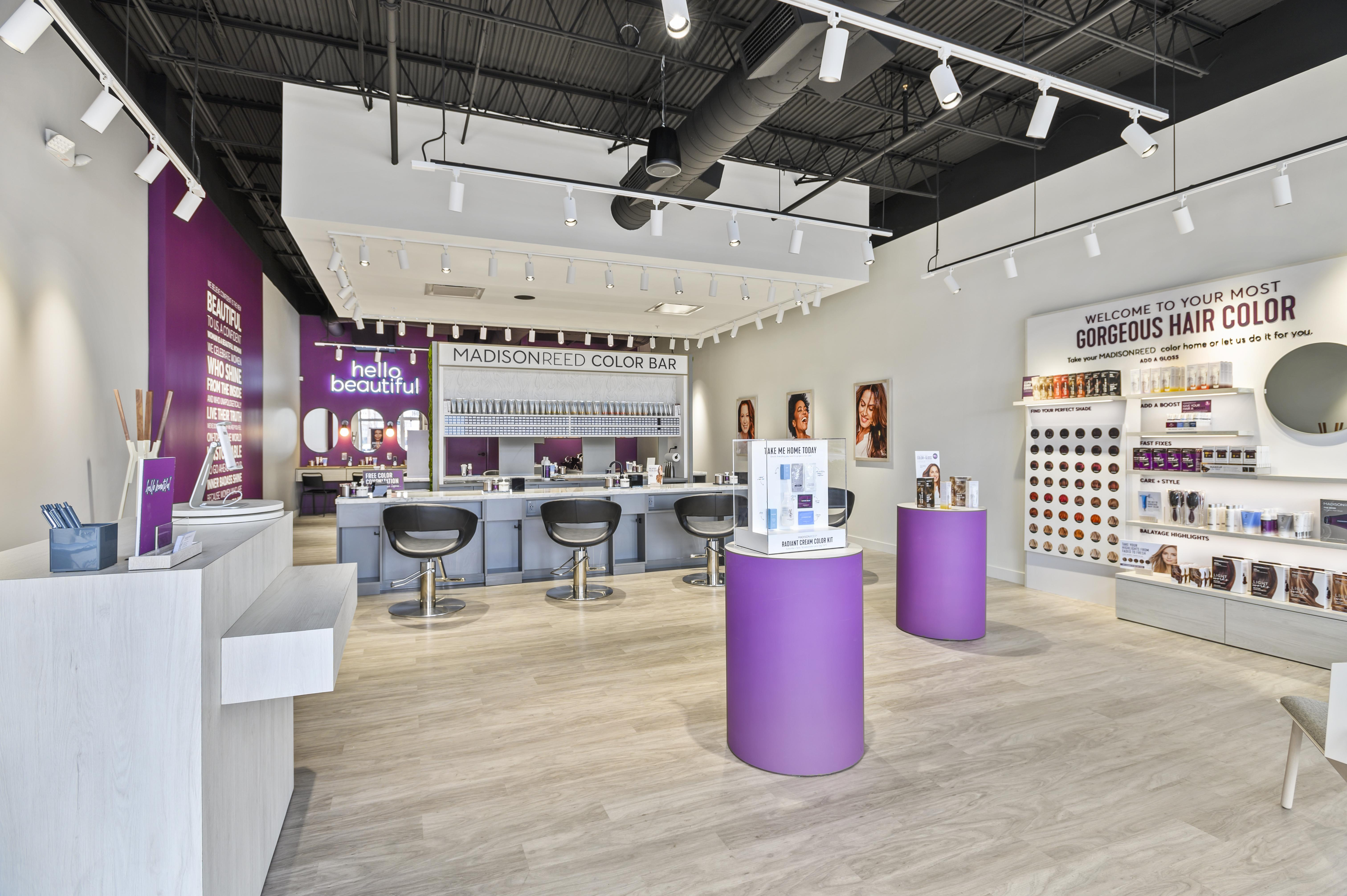 Interior Photo of Madison Reed Color Bar Rockville
