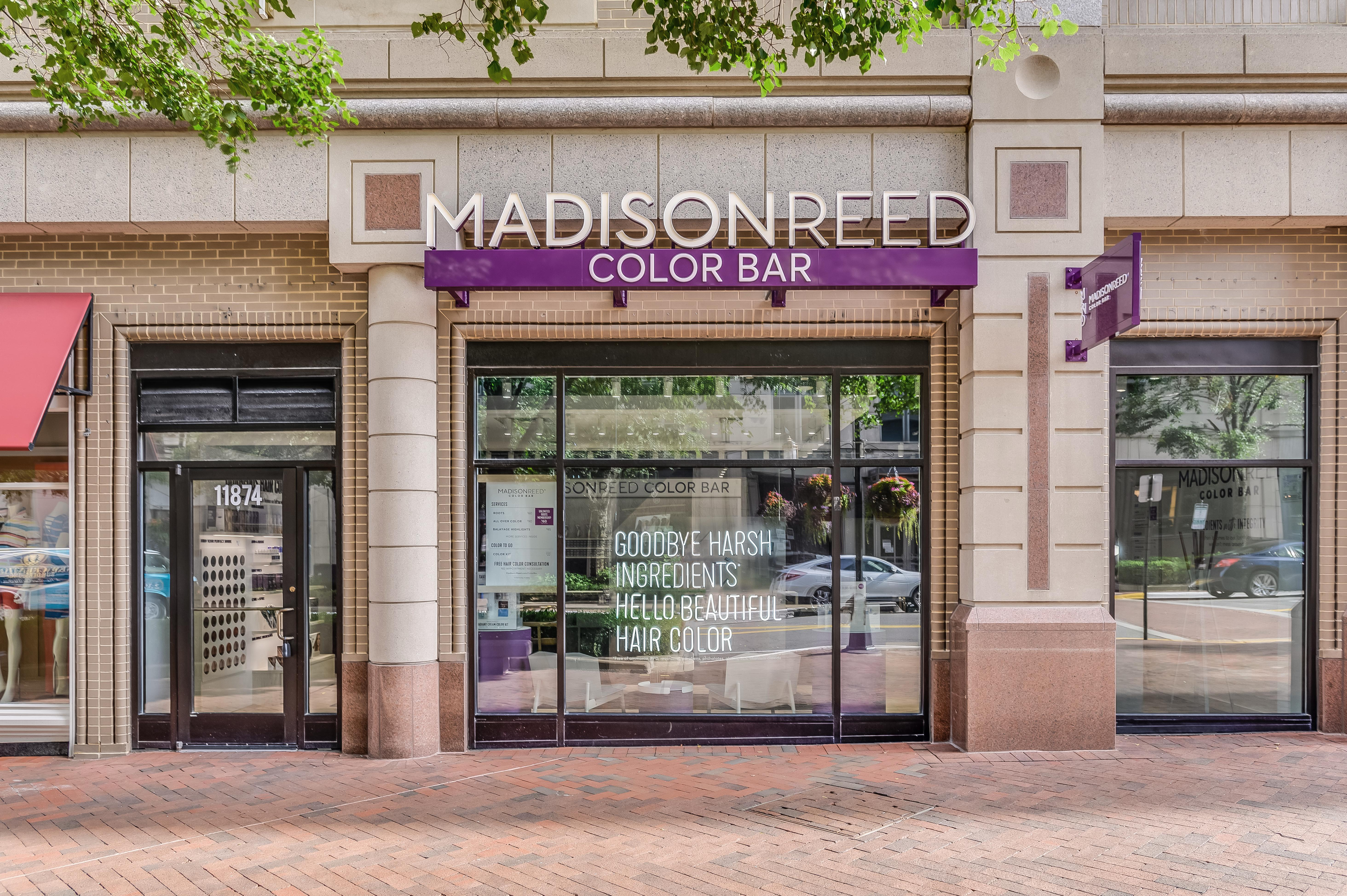 Exterior Photo of Madison Reed Color Bar Reston