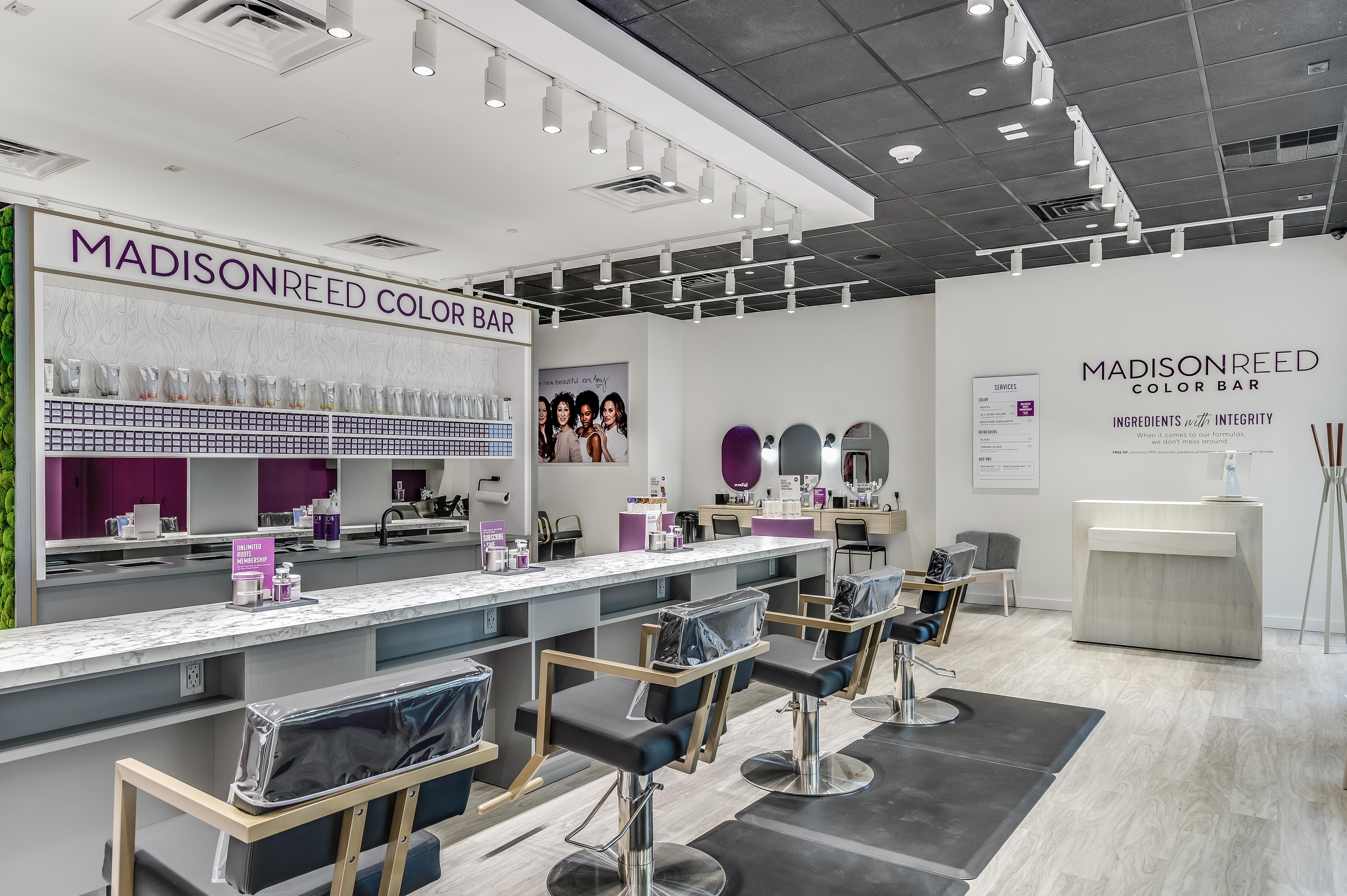 Interior Photo of Madison Reed Color Bar Reston