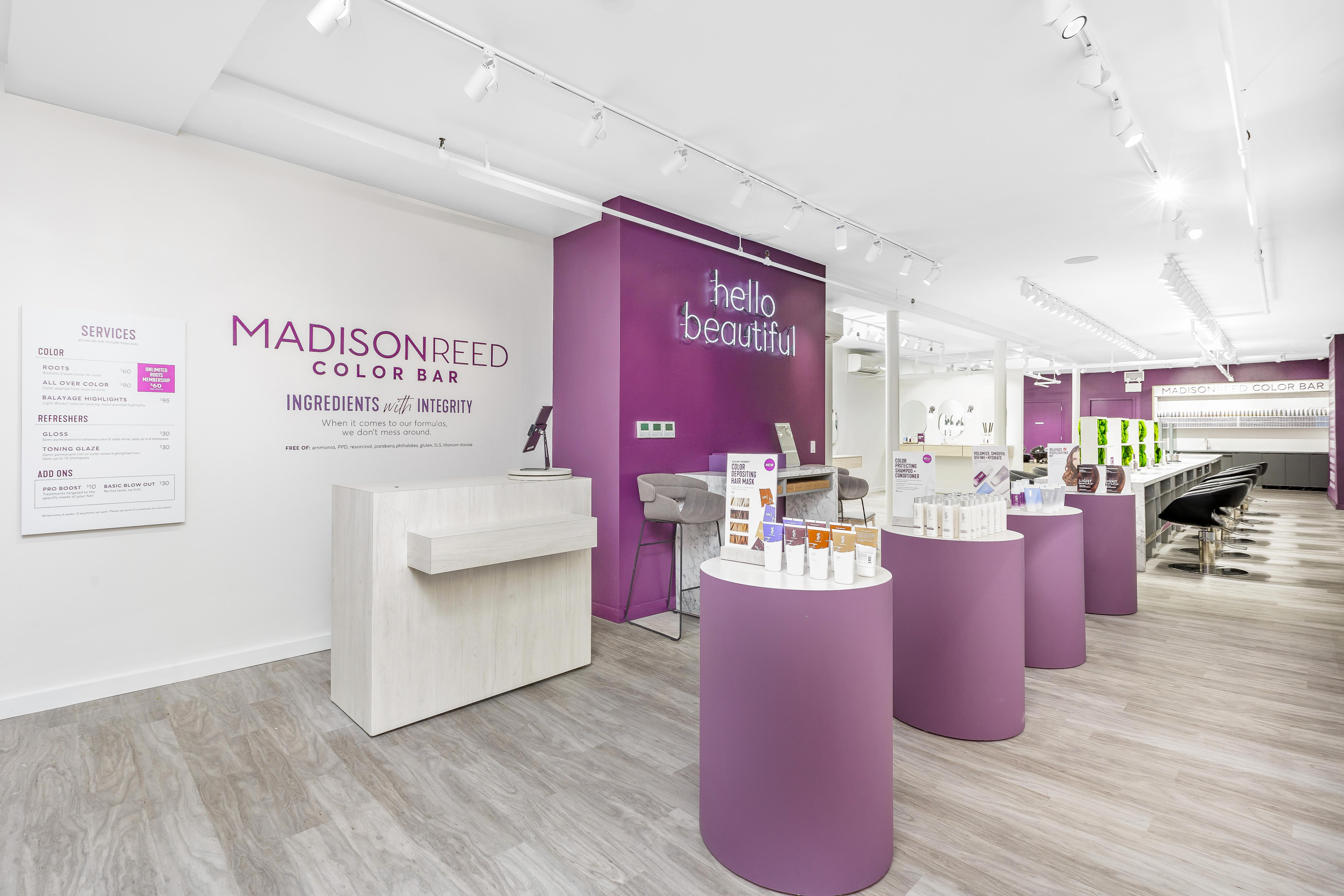 Interior Photo of Madison Reed Color Bar Flatiron