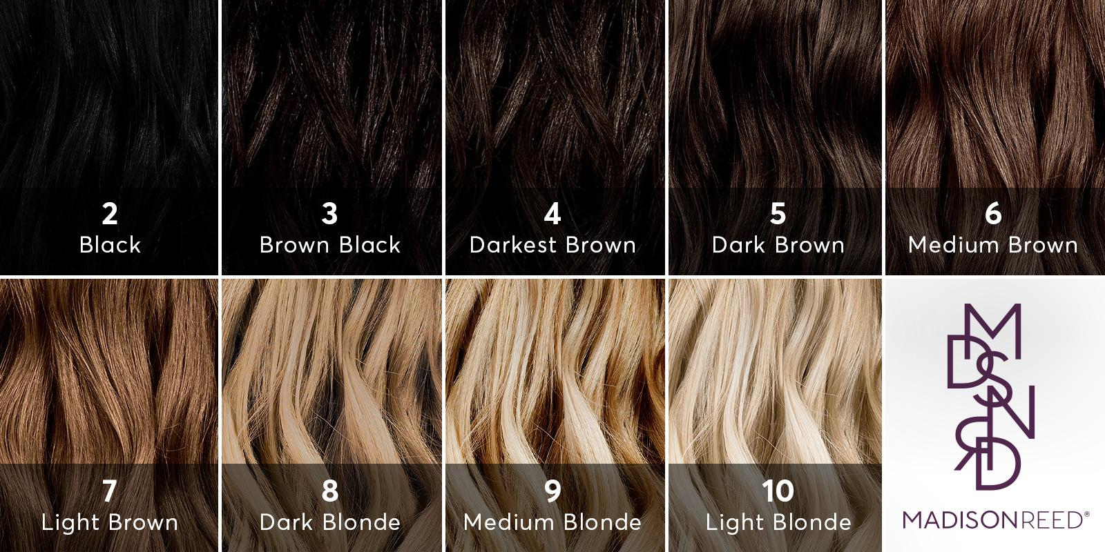 Hair Color Level Chart_ Madison Reed